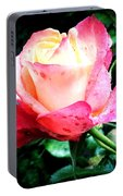 Rose Solitude  Portable Battery Charger