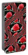 Rose Tiles Portable Battery Charger