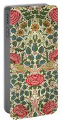 Rose Portable Battery Charger by William Morris