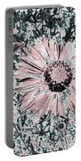 Rose Wine Daisies Portable Battery Charger