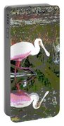 Roseate Spoonbill II Portable Battery Charger
