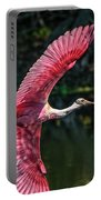 Roseate Spoonbill Portable Battery Charger