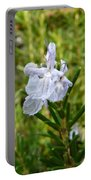 Rosemary Bloom Portable Battery Charger