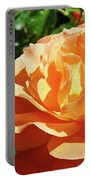 Roses Art Prints Orange Rose Flower 11 Giclee Prints Baslee Troutman Portable Battery Charger