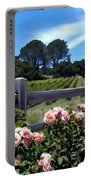 Roses At Rusack Vineyards Portable Battery Charger