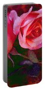 Roses Beautiful Pink Vegged Out Portable Battery Charger