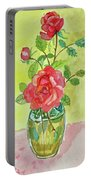 Roses For Dorothy Portable Battery Charger