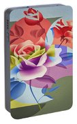 Roses For Her Portable Battery Charger