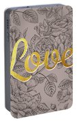 Roses For Love Portable Battery Charger
