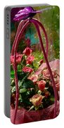 Roses Gift Bag Portable Battery Charger