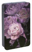 Roses In Mauve Portable Battery Charger