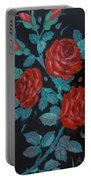 Roses In The Classic Style Portable Battery Charger