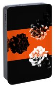 Roses Interact With Orange Portable Battery Charger