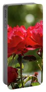 Roses On A Sunny Day Portable Battery Charger