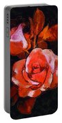 Roses Painted And Drawn Portable Battery Charger