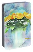 Roses Row Portable Battery Charger