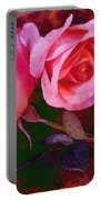 Roses Silked Pink Vegged Out Portable Battery Charger