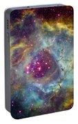 Rosette Nebula Ngc 2244 In Monoceros Portable Battery Charger