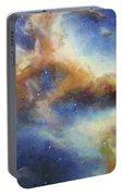 Rosette Nebula Portable Battery Charger