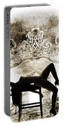Rosie Nude Fine Art Print In Sensual Sexy 4641.01 Portable Battery Charger