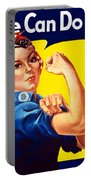 Rosie The Rivetor Portable Battery Charger