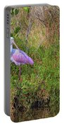 Rosie The Spoonbill Portable Battery Charger