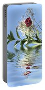 Rosy Reflection  Portable Battery Charger