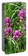 Rosy Wildflowers Portable Battery Charger