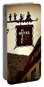Rothenburg Hotel Sign - Digital Portable Battery Charger