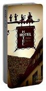Rothenburg Hotel Sign - Digital Portable Battery Charger