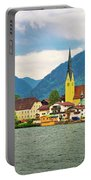 Rottach Egern On Tegernsee Architecture And Nature View Portable Battery Charger