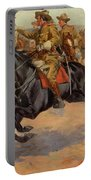 Rough Riders Cavalry Portable Battery Charger