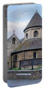 Round Church. Cambridge. Portable Battery Charger
