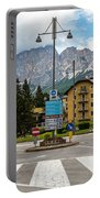 Roundabout Cortina D'ampezzo  Portable Battery Charger