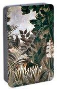 Rousseau: Jungle, 1909 Portable Battery Charger