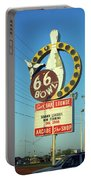 Route 66 Bowl Portable Battery Charger