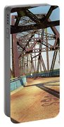 Route 66 - Chain Of Rocks Bridge Portable Battery Charger