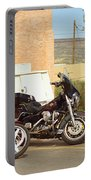 Route 66 - Grants New Mexico Motorcycles Portable Battery Charger