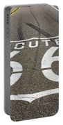 Route 66 Highway Sign Portable Battery Charger