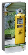 Route 66 - Illinois Gas Pumps Portable Battery Charger