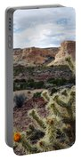 Route 66 Mojave Desert Landscape Portable Battery Charger