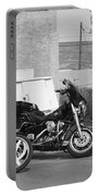 Route 66 Motorcycles Bw Portable Battery Charger