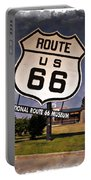 Route 66 Museum - Impressions Portable Battery Charger