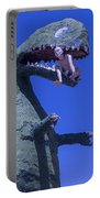 Route 66 Roadside Dinosaur Portable Battery Charger