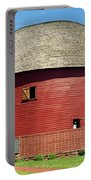 Route 66 - Round Barn Portable Battery Charger
