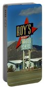 Route 66 - Roy's Of Amboy California 2 Portable Battery Charger