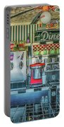Route 66 Valentine Diner Portable Battery Charger