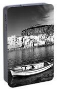 Rowboat Along An Idyllic Sicilian Village. Portable Battery Charger