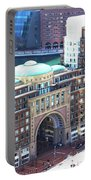 Rowes Wharf Building Portable Battery Charger