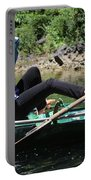 Rowing Boat With Legs, Tam Coc  Portable Battery Charger